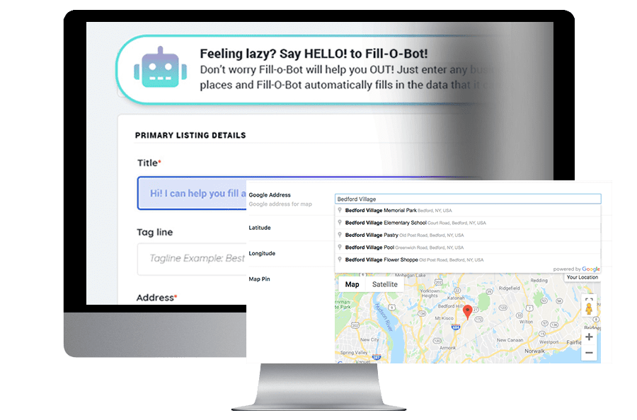 Auto Listing Submissions via Google Maps